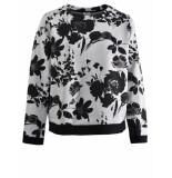 Margittes Sweater met bloemen