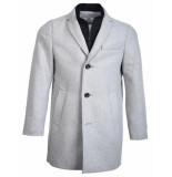 WHITE Wollen jas hanco