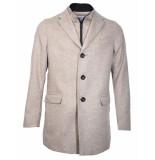 WHITE Wollen jas
