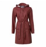 Rains Regenjas belt jacket maroon