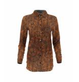 MAICAZZ Garbi-blouse ext20.20.011 hyenna spirit