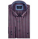 Giordano Kennedy overhemd geruit button down regular fit