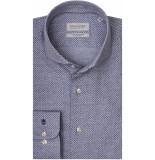 Thomas Maine Heren overhemd bari dot cutaway tailored fit