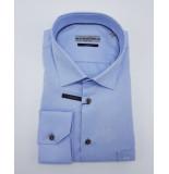 Ledûb Heren overhemd midden semi spread modern fit