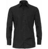 Casamoda Heren overhemd poplin non iron combi manchet