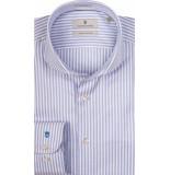 Thomas Maine Heren overhemd twill bari cutaway licht streep tailored fit