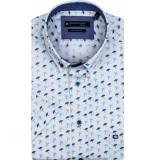 Giordano Overhemd korte mouwen parasol print button down