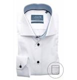 Ledûb Heren overhemd spier stip contrast twill widespread modern fit