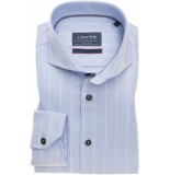 Ledûb Heren overhemd gestreept dobby cutaway modern fit