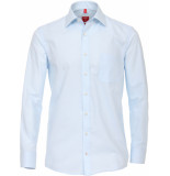 Redmond Heren overhemd licht kent borstzak regular fit