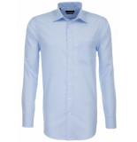 Seidensticker Heren overhemd licht poplin borstzak modern fit