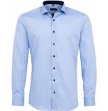 Eterna Heren overhemd oxford cutaway slim fit