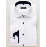 Eterna Heren overhemd navy contrast fine oxford kent ml6 modern fit