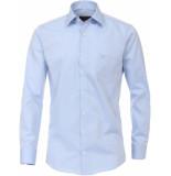 Casamoda Heren overhemd licht chambray kent non iron modern fit