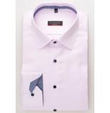 Eterna Heren overhemd ruit details twill classic kent modern fit