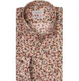 Thomas Maine Heren overhemd roma bloem print kent tailored fit