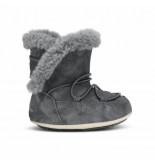 Moon Boot Junior crib suede dark gray