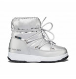 Moon Boot Girls low nylon wp silver