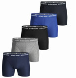 Björn Borg Heren boxers 5-pack multi long solid stretch