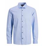 Jack & Jones 12173879 overhemd slim fit cashmere blue -
