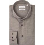 Thomas Maine Heren overhemd bari plain cutaway tailored fit