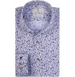 Thomas Maine Heren overhemd blue bloemen cutaway tailored fit