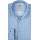 Thomas Maine Heren overhemd licht dobby tailored fit
