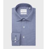 Michaelis Overhemd dobby cutway slim fit