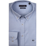 Giordano Overhemd korte mouwen ruit print button down