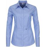 Seidensticker Dames overhemd streep poplin