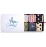 Alfredo Gonzales Sokken giftbox the socks&stripes box