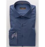 Eterna Heren overhemd stretch poplin kent slim fit