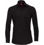Redmond Heren overhemd kent borstzak regular fit