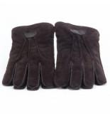 Warmbat Handschoen men gloves suede brown