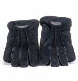 Warmbat Handschoen men gloves suede black