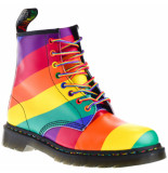 Dr. Martens Heren veterboots rainbow