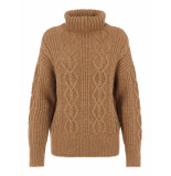 Y.A.S Yastalia ls knit pullover d2d tawny brown