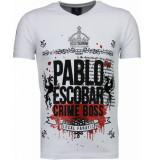 Local Fanatic Pablo escobar boss rhinestone t-shirt