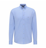 Fynch-Hatton Overhemd buttondown lichtblauw
