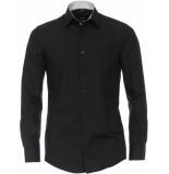 Venti Heren overhemd contrast poplin kent modern fit