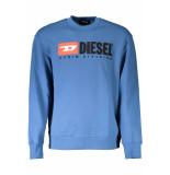 Diesel Shep s-crew trui zonder rits