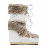 Moon Boot Women classic faux fur white