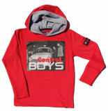 Boys in Control 304 rood sweater