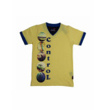 Boys in Control 403 geel T-shirt
