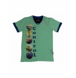 Boys in Control 403 Mint groen T-shirt