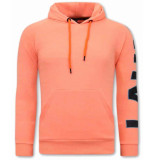 Tony Backer Oversized hoodie orange