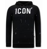 Tony Backer Icon hoodie zwart