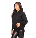 LA Sisters Mini logo oversized hoodie