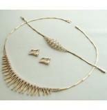 Christian Gouden sieraden set met zirkonia