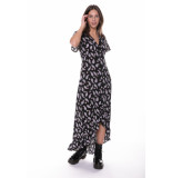 Colourful Rebel Tyra Paisley High Low Maxi Dress